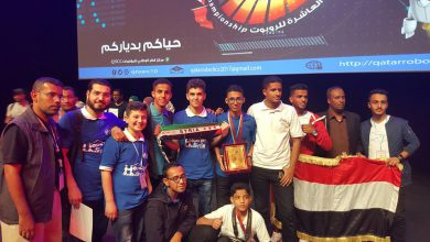 Photo of فريق من الطلاب السوريين  اللاجئين يحقق المركز الأول في بطول العالم للروبوتات بدبي