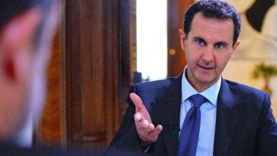 """Photo of بالفيديو: بشار الأسد يبرر توقفه عن الحديث أمام مجلس الشعب """"الجوع هو السبب"""""""