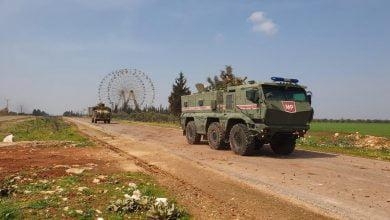 "Photo of تسيير أول دورية ""روسية تركية"" مشتركة على طريق M4 في محافظة إدلب"