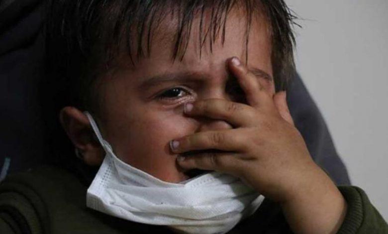 Photo of كورونا يزيد من معاناة طفل سوري مريض بالسرطان في مدينة أضنة التركية