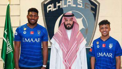 Photo of نادي الهلال السعودي يوقع عقدين احترافيين مع حمد العبدان ونواف الغامدي