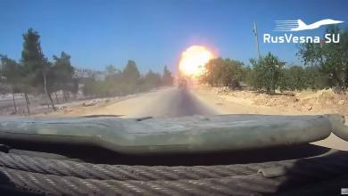 Photo of الإعلام الروسي ينشر مقطعاً مصوراً  للحظة استـ.ـهداف آلية روسية في إدلب (فيديو)
