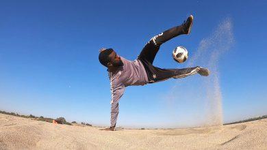 "Photo of سوداني يخطف أنظار برشلونة بكرة القدم الاستعراضية "" فوتبول فري ستايل"" ويلقى شهرة واسعة على مواقع التواصل"