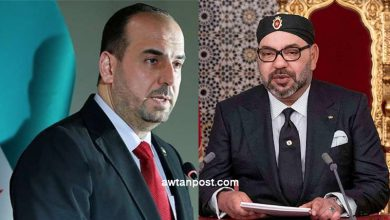 "Photo of المغرب ملاذ للسلام .. نصر الحريري يوجه رسالة إلى ملك المغرب ""محمد السادس"""