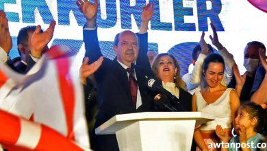 Photo of أرسين تتار يفوز بانتخابات الرئاسة في قبرص التركية وأردوغان يقدم له التهنئة