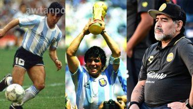 """Photo of وفاة نجم الكرة الأرجنتينية """"دييجو مارادونا"""" عن عمر ناهز 60 عاما .. وهذه أبرز الجوانب الخفية في حياته"""