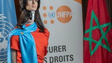 """Photo of الروبوت الأنثى """"شامة"""" مغربية الولادة وعالمية الصنع وتدافع عن حقوق المرأة"""