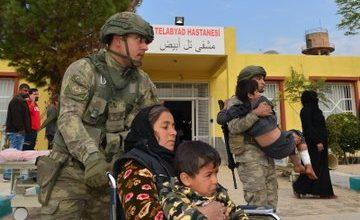 """Photo of الصحة السورية تعلن البدء ببناء مشفى بــ """"تل أبيض"""" بدعم تركي"""