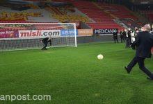 Photo of بالفيديو .. أردوغان يسجل هدفاً بركة جزاء ويؤكد على مواصلة إحراز الأهداف