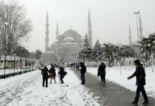 Photo of استمرار تساقط الثلوج في إسطنبول والأرصاد الجوية التركية تحذر